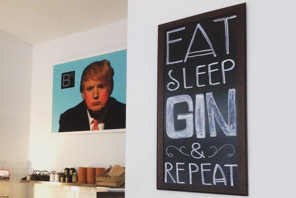 The B10 Gin-Bar in Leipzig