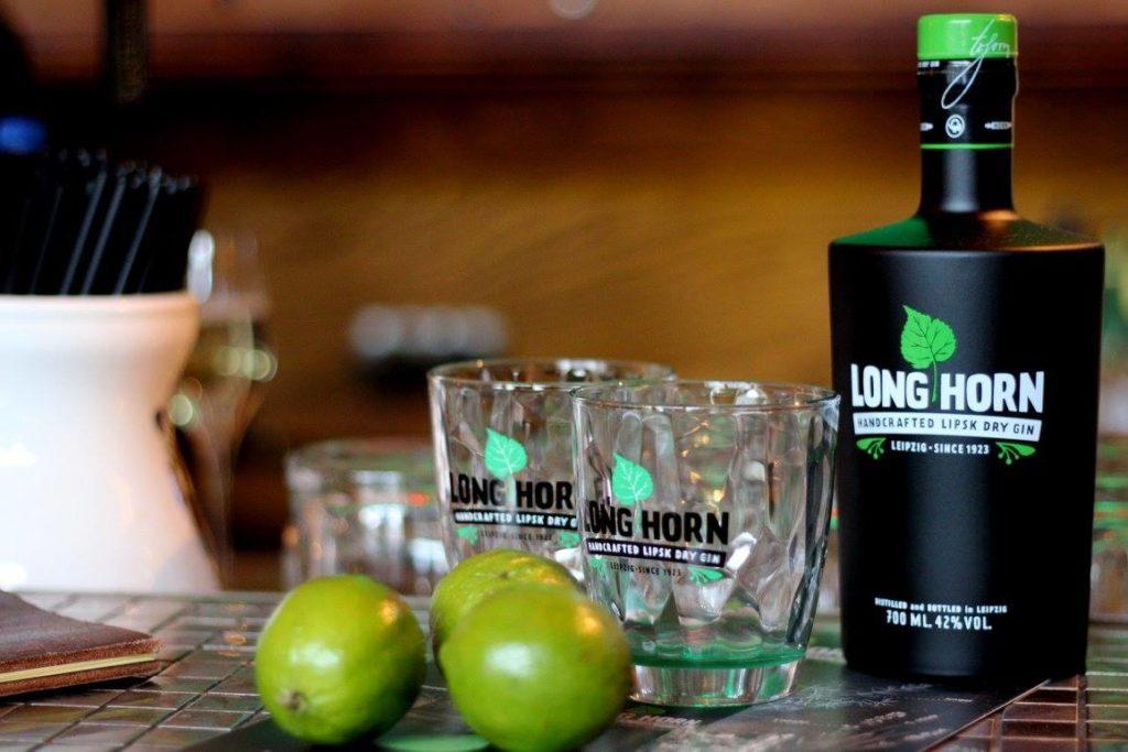 Long Horn GIn in Leipziger Bar